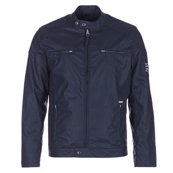 tekstylia Męskie Kurtki krótkie Pepe jeans RACER Marine