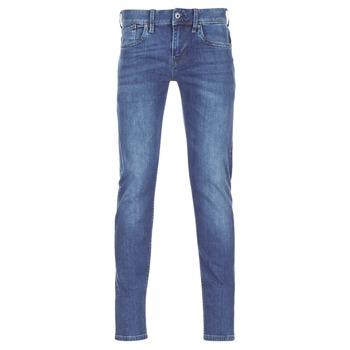 tekstylia Męskie Jeansy slim fit Pepe jeans HATCH Niebieski