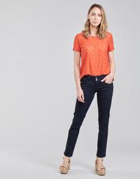 tekstylia Damskie Jeansy straight leg Pepe jeans GEN Niebieski