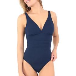 tekstylia Damskie Kostium kąpielowy jednoczęściowy Janine Robin 991015-17 Niebieski