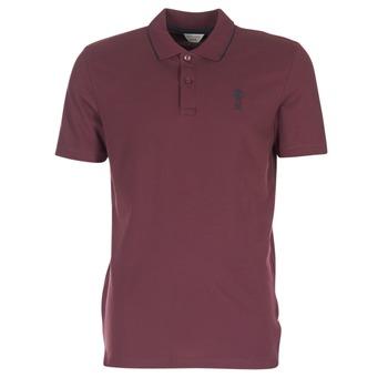 tekstylia Męskie Koszulki polo z krótkim rękawem Jack & Jones STONE CORE BORDEAUX