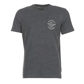 tekstylia Męskie T-shirty z krótkim rękawem Jack & Jones ORGANIC ORIGINALS Szary