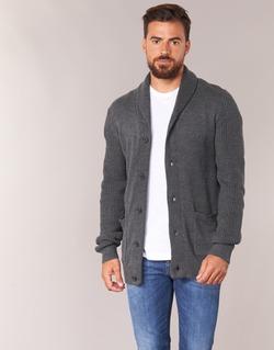 tekstylia Męskie Swetry rozpinane / Kardigany Jack & Jones INSPECT ORIGINALS Szary