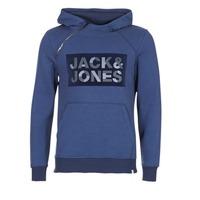 tekstylia Męskie Bluzy Jack & Jones KALVO CORE Niebieski