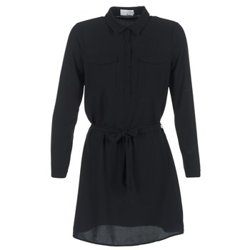 tekstylia Damskie Sukienki krótkie Casual Attitude HONIRE Czarny