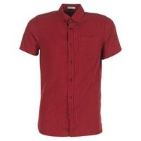 tekstylia Męskie Koszule z krótkim rękawem Jack & Jones JOHAN ORIGINALS Czerwony