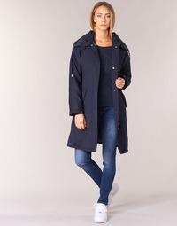tekstylia Damskie Prochowce Armani jeans MERCHA Marine