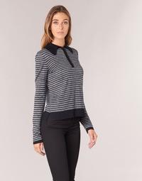 tekstylia Damskie Swetry Armani jeans LAMAC Szary