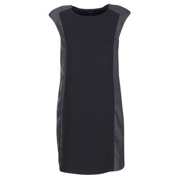 tekstylia Damskie Sukienki krótkie Armani jeans LAMIC Czarny / Szary