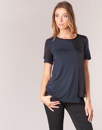 tekstylia Damskie T-shirty z krótkim rękawem Armani jeans DRANIZ Marine / Czarny