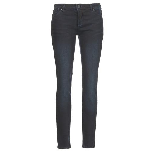 tekstylia Damskie Jeansy slim fit Armani jeans BOBE Niebieski