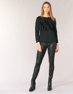 tekstylia Damskie Jeansy skinny Armani jeans BABEZ Czarny