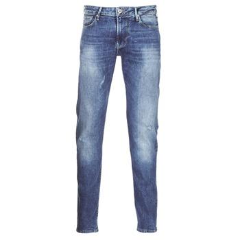 tekstylia Męskie Jeansy slim fit Armani jeans LORETTE Niebieski