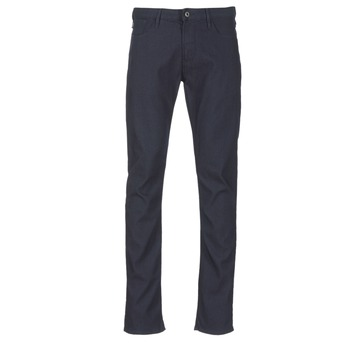 tekstylia Męskie Spodnie z pięcioma kieszeniami Armani jeans GOURNA Niebieski