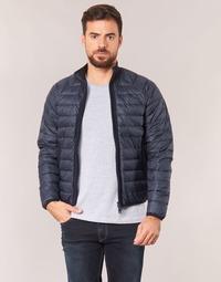 tekstylia Męskie Kurtki pikowane Armani jeans JILLU Czarny