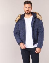 tekstylia Męskie Kurtki pikowane Armani jeans GNAN Marine