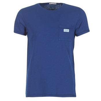 tekstylia Męskie T-shirty z krótkim rękawem Scotch & Soda JURISCU MARINE