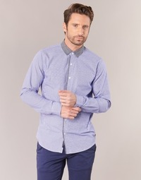 tekstylia Męskie Koszule z długim rękawem Scotch & Soda JILLA Niebieski