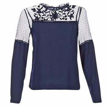 tekstylia Damskie Topy / Bluzki Vero Moda JOSEFINE Marine