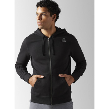 Bluzy Reebok Sport Bluza z kapturem Elements Fleece Full Zip