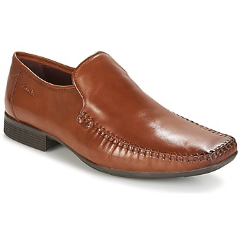 Buty Męskie Mokasyny Clarks Ferro Step TAN / Leather