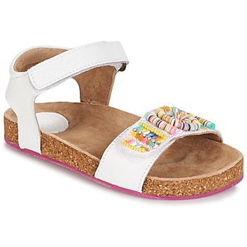 Buty Dziewczynka Sandały Kickers NAISSA Biały