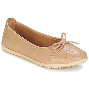 Buty Dziewczynka Baleriny Kickers EDANA Beżowy