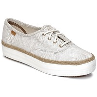 Buty Damskie Trampki niskie Keds TRIPLE DALMATA DOT LEATHER Cream