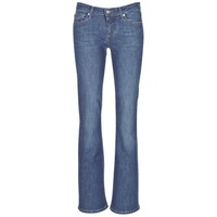 tekstylia Damskie Jeansy bootcut Betty London IHEKIKKOU BOOTCUT Niebieski / Medium
