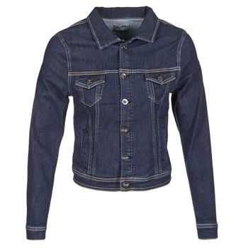 tekstylia Damskie Kurtki jeansowe Yurban IHELEFI Niebieski / Medium
