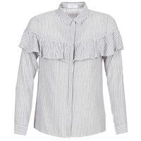 tekstylia Damskie Koszule Moony Mood HALIS Biały
