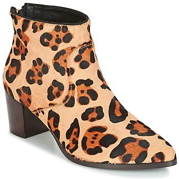 Buty Damskie Botki Bocage MELODY Leopard