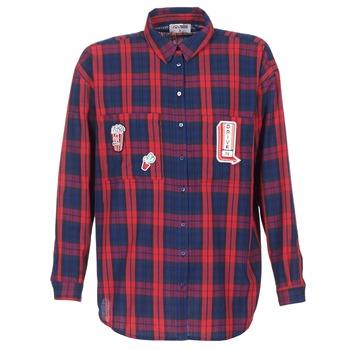 tekstylia Damskie Koszule Yurban HERDON Czerwony