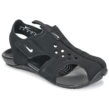 Buty Chłopiec Sandały Nike SUNRAY PROTECT 2 TODDLER Czarny / Biały