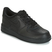 Buty Dziecko Trampki niskie Nike AIR FORCE 1 CADET Czarny