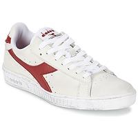 Buty Trampki niskie Diadora GAME L LOW WAXED Biały / Czerwony