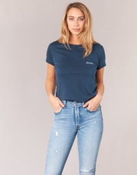 tekstylia Damskie T-shirty z krótkim rękawem Yurban IHOULOU Marine