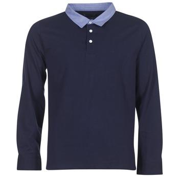 tekstylia Męskie Koszulki polo z długim rękawem Casual Attitude IHEYA Marine