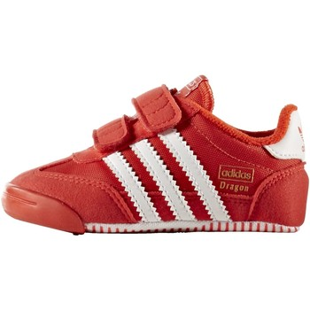 Buty Dziecko Trampki niskie adidas Originals Buty Dragon Learn 2 Walk Shoes red