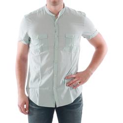 tekstylia Męskie Koszule z krótkim rękawem Antony Morato AMT05211 Verde claro