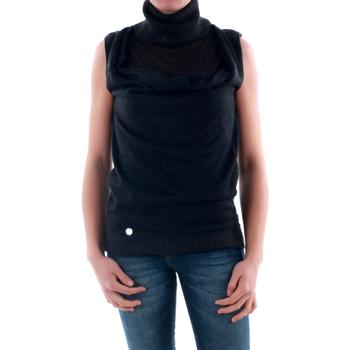 tekstylia Damskie Swetry Amy Gee AMY04201 Gris oscuro