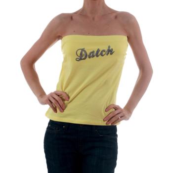 tekstylia Damskie Topy na ramiączkach / T-shirty bez rękawów Datch DTC00006 Amarillo