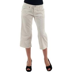 tekstylia Damskie Krótkie spodnie Fornarina FOR00006 Blanco roto