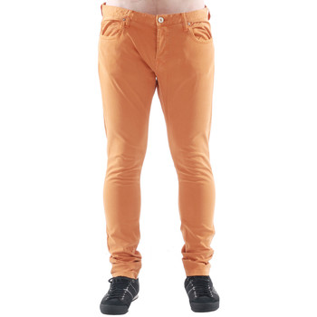 tekstylia Męskie Chinos Freesoul DRAKE CATO ORANGE Naranja