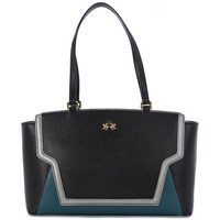 Torby Damskie Torby shopper La Martina PORTENA BLACK GREEN Multicolore