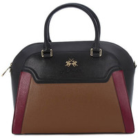 Torby Damskie Torby shopper La Martina PORTENA BLACK TAUPE Multicolore