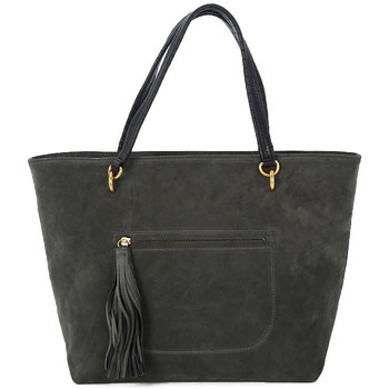 Torby Damskie Torby shopper Coccinelle DOUBLE ASPHALT Grigio