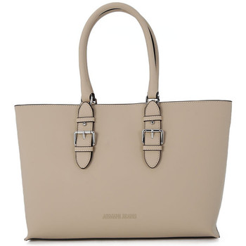 Torby shopper Armani jeans SHOPPING LIGHT BEIGE