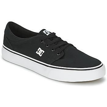 Buty Męskie Trampki niskie DC Shoes TRASE TX MEN Czarny / Biały