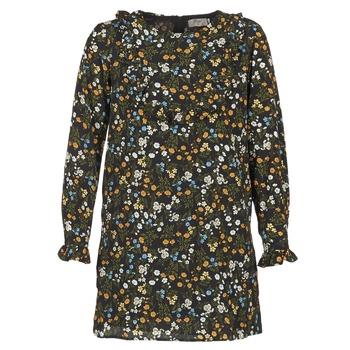 tekstylia Damskie Sukienki krótkie Betty London HOTU Czarny / Wielokolorowe